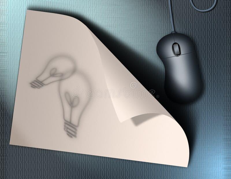 pomysł internetu ilustracji