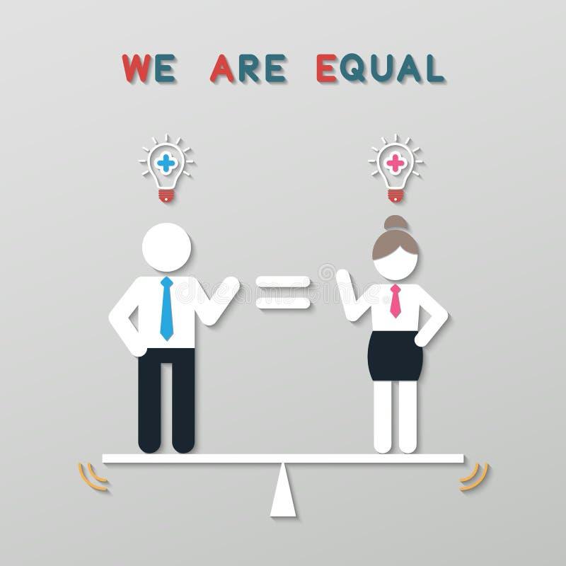 Pomysłu balansowy biznesowy pojęcie royalty ilustracja