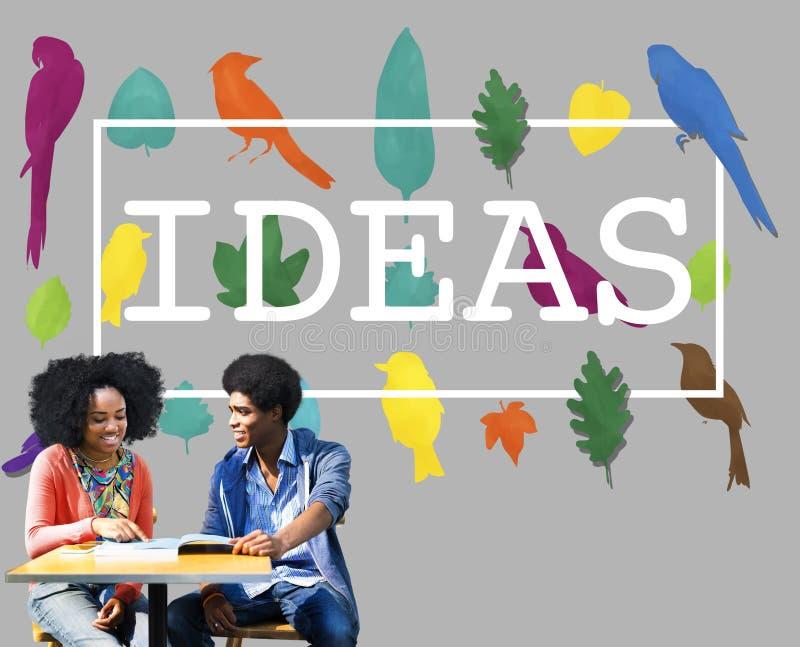 Pomysły Tworzą Kreatywnie twórczość myśli pojęcie zdjęcia royalty free