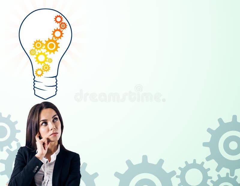 Pomys? i innowaci poj?cie zdjęcia stock