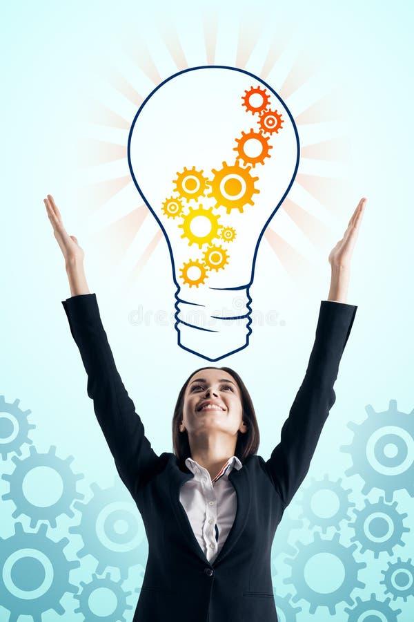 Pomys? i innowaci poj?cie fotografia royalty free