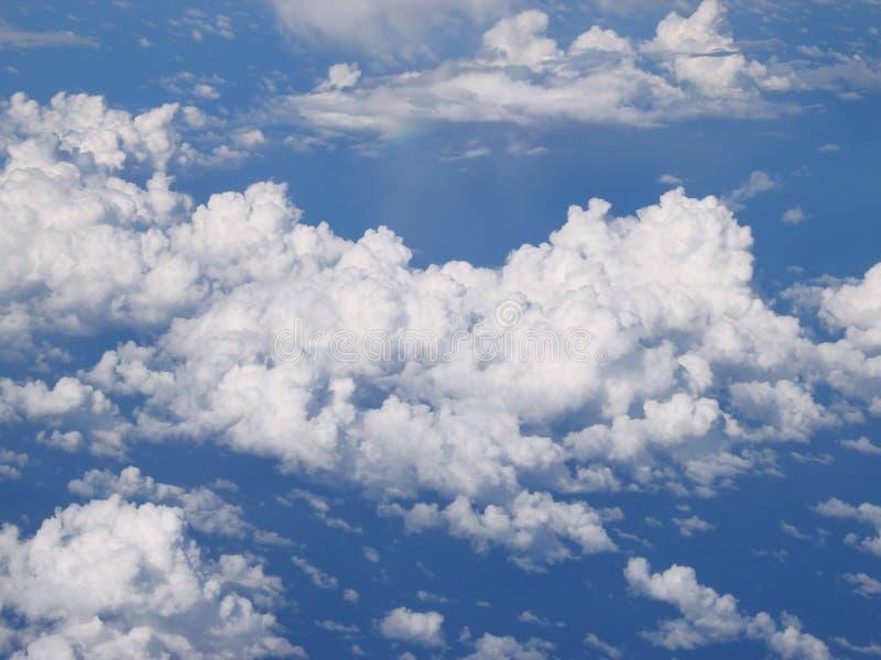 ponad chmurami fotografia stock