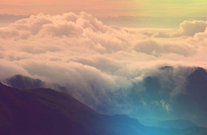 ponad chmurami zdjęcie royalty free