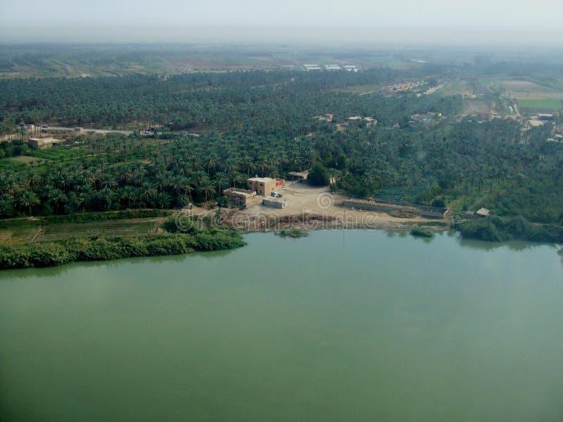 ponad Euphrates zdjęcia stock