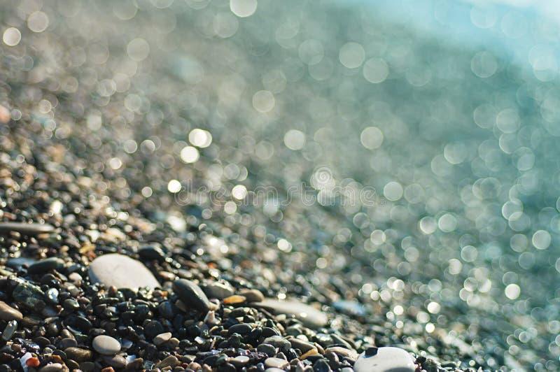 Download Ponadto Być Sfotografowana W Kamyczek Morska Woda Z Alg Obraz Stock - Obraz złożonej z macro, wzór: 53781281