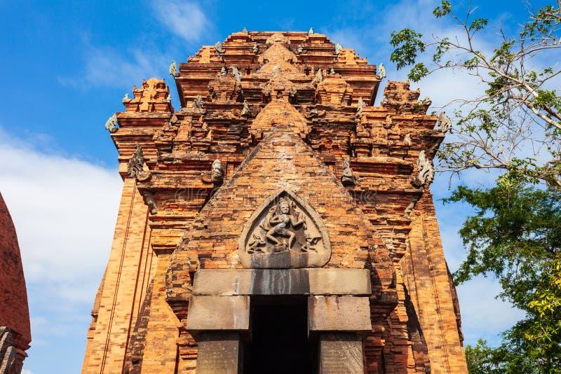 Ponagar, Po Nagar świątynia góruje obrazy stock