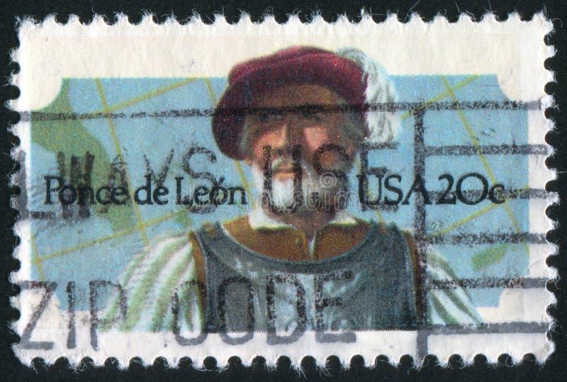 Ponce de Leon obraz stock