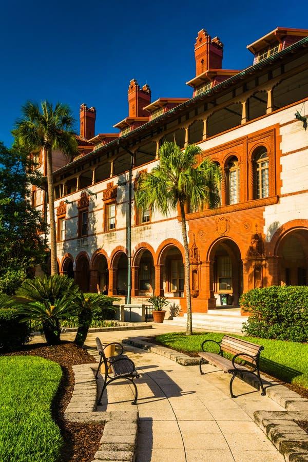 Ponce de Leon Hall στο κολλέγιο Flagler, ST Augustine, Φλώριδα στοκ εικόνα με δικαίωμα ελεύθερης χρήσης