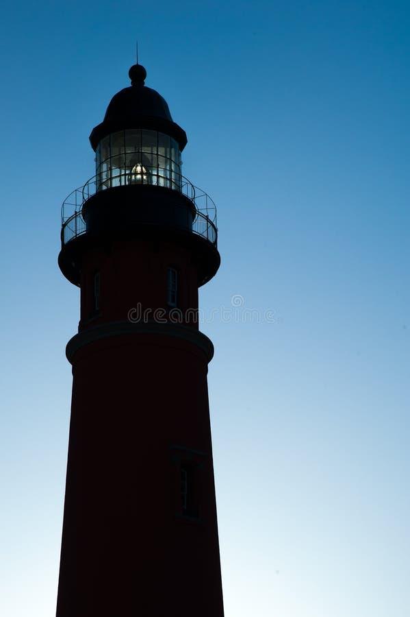 Ponce DE Leon Inlet Lighthouse en Museum stock fotografie