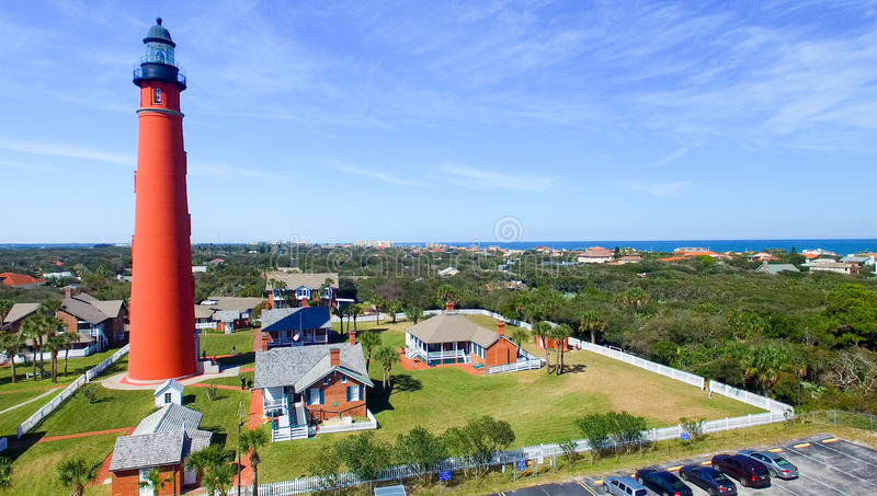 Ponce DE Leon Lighthouse, Florida royalty-vrije stock fotografie