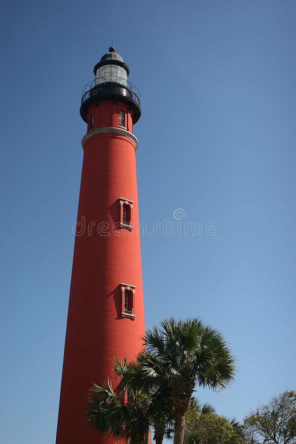 Download Ponce Inlet Lighthouse stock image. Image of guide, landmark - 324851
