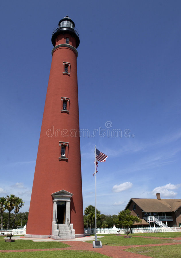 Ponce Inlet Lighthouse Royalty Free Stock Image