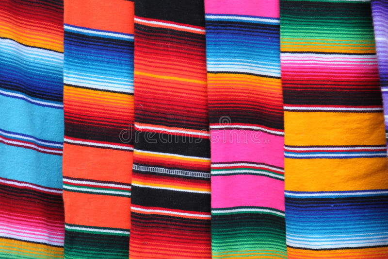 Poncho του Μεξικού στοκ εικόνες με δικαίωμα ελεύθερης χρήσης