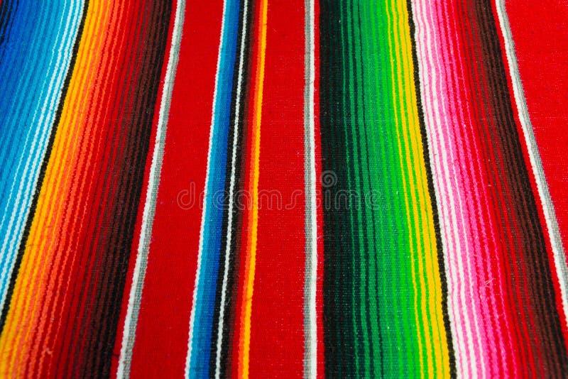 Poncho mexicano imágenes de archivo libres de regalías