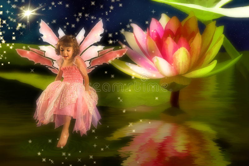 Download Pond Fairy stock image. Image of magic, fairytale, girls - 4811669