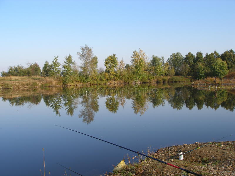 Download Pond for fishing stock image. Image of stank, recreation - 28649235