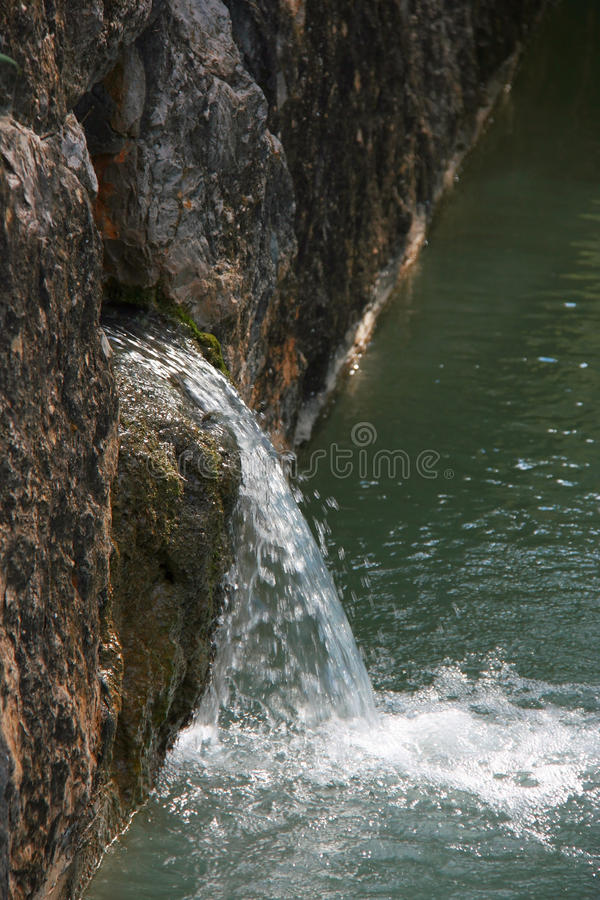 Download Pond at the garden stock photo. Image of meditation, stream - 28550554