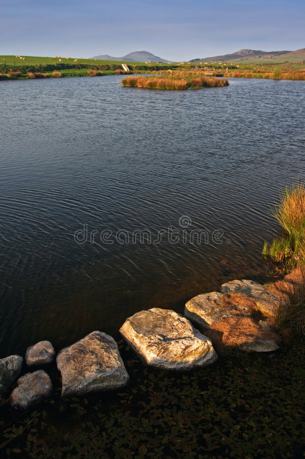 Free Pond In Wales Royalty Free Stock Image - 2827446