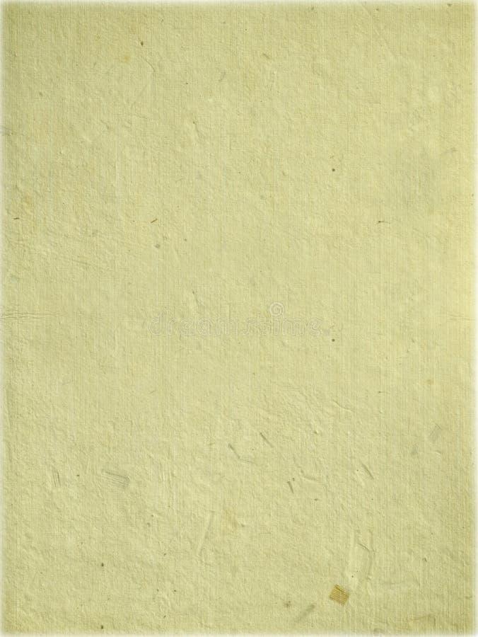 _poner crema hecho a mano hoja de papel foto de archivo libre de regalías
