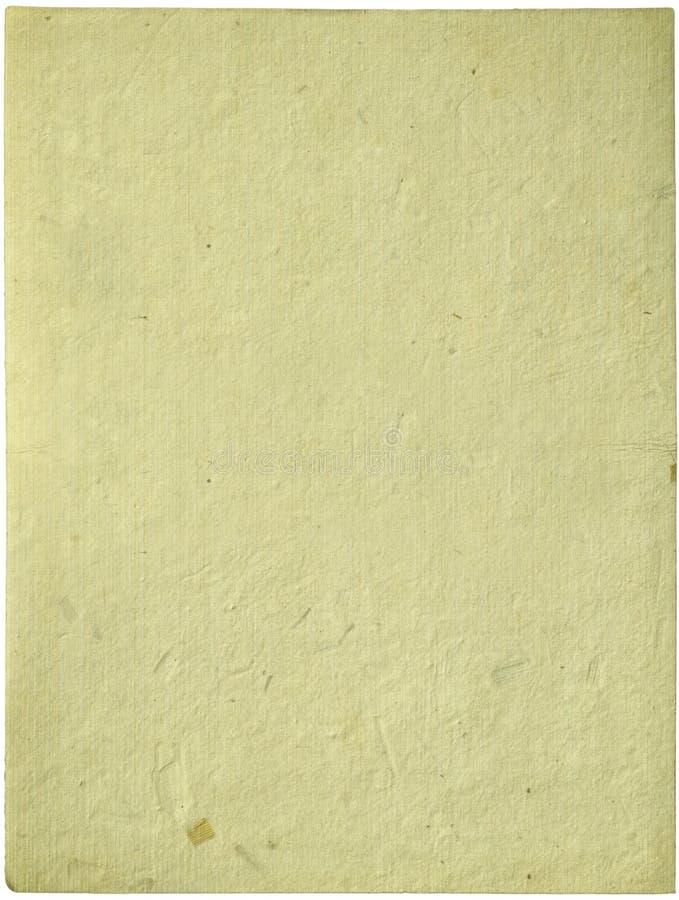 _poner crema hecho a mano hoja de papel aislar imagen de archivo