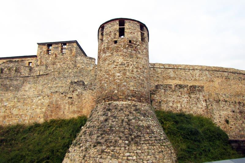 Ponferrada befästning arkivbilder