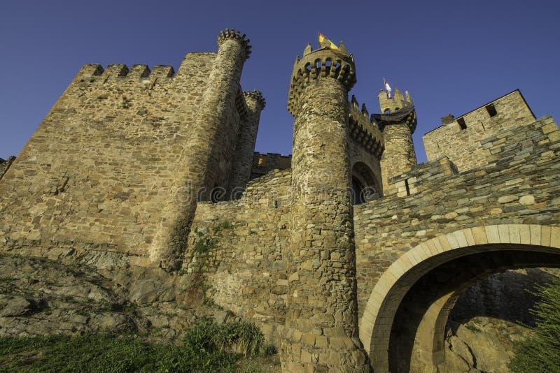 Ponferrada, Leon province, Spain royalty free stock image