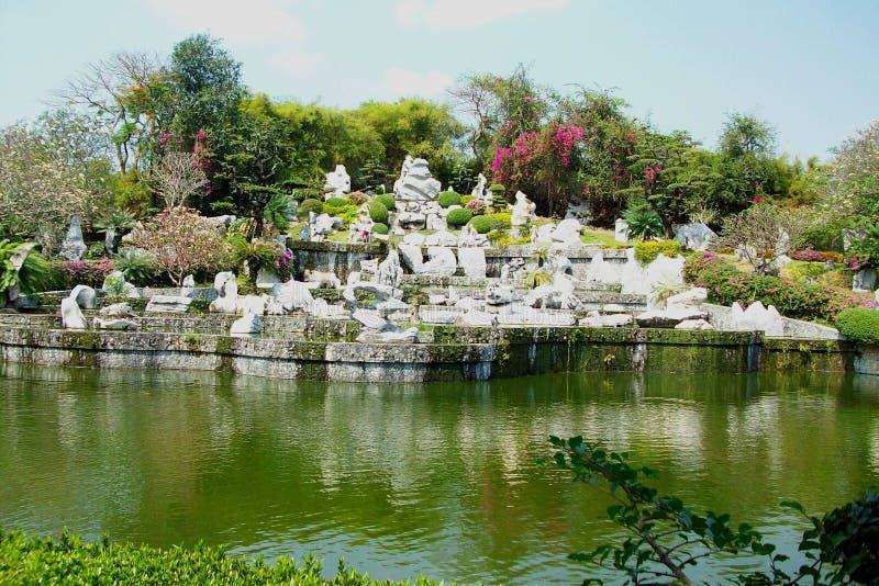 Pong w Tajlandia rockowym ogródzie obrazy royalty free
