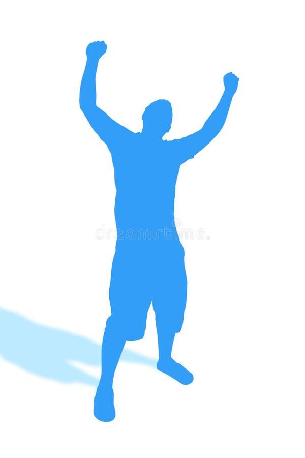 Ponga sus manos ilustración del vector