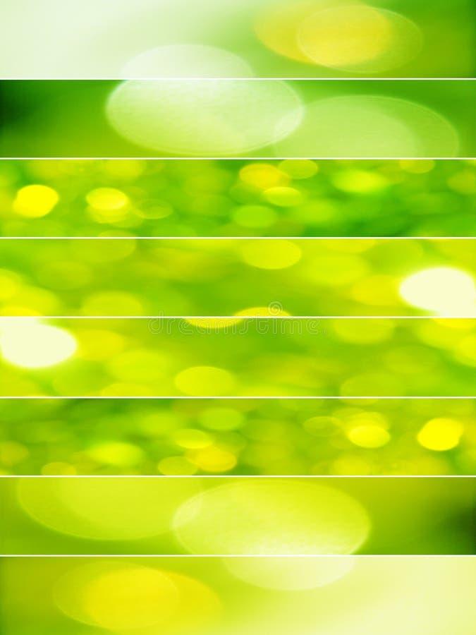 Ponga verde los fondos abstractos foto de archivo libre de regalías