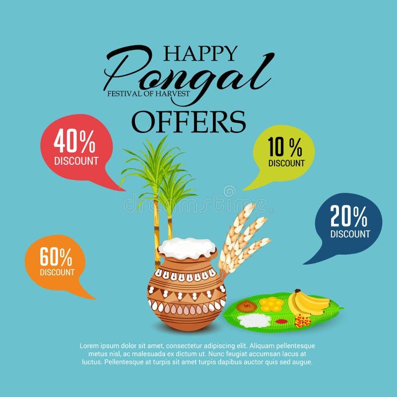Pongal stock illustratie