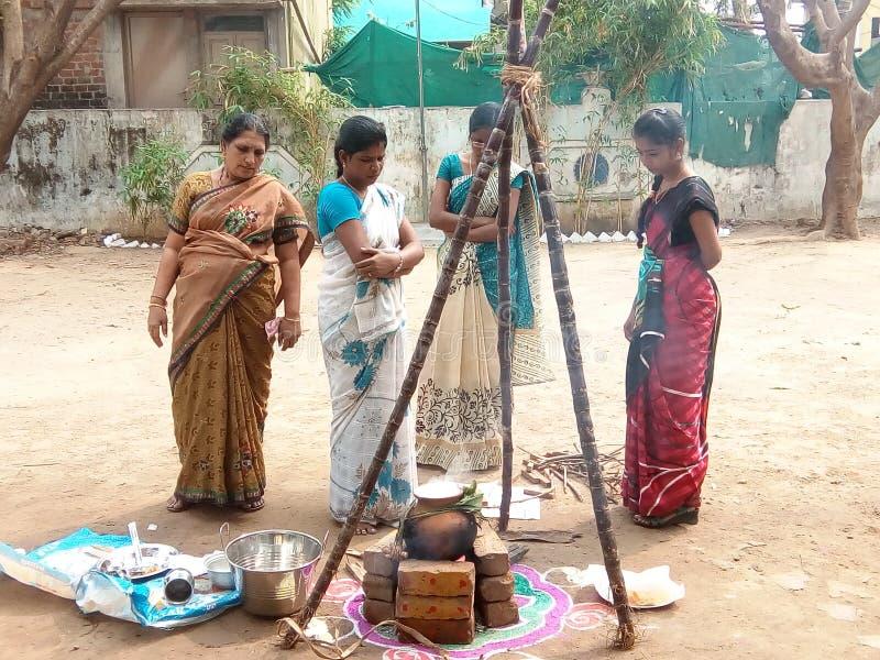 Pongal fest zdjęcie stock
