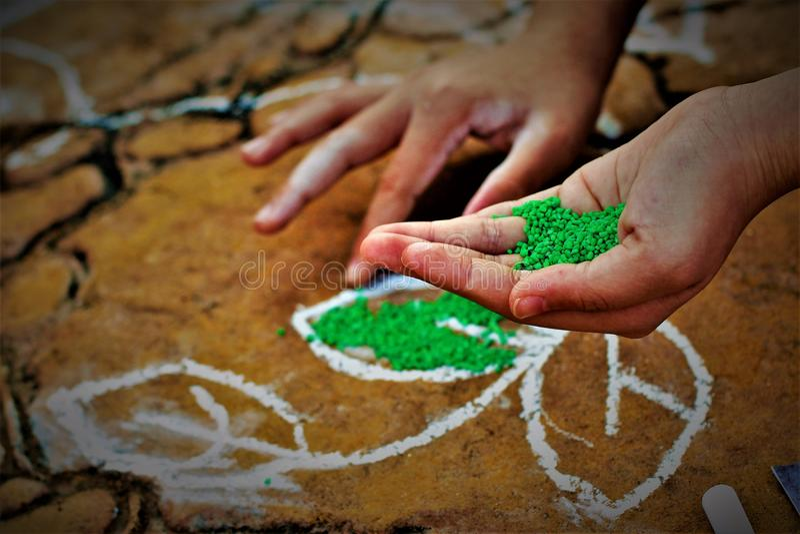 Pongal festiwalu żniwa festiwal dedykujący słońce bóg zdjęcie stock