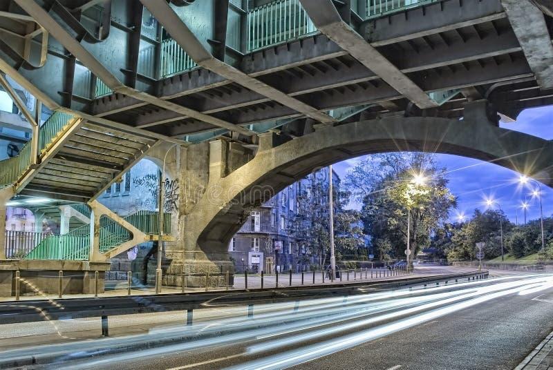 Poniatowski Bridge stock images
