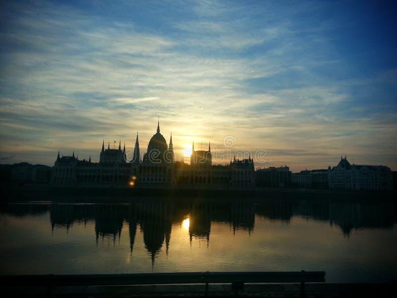 Poniedziałku wschód słońca zdjęcie stock