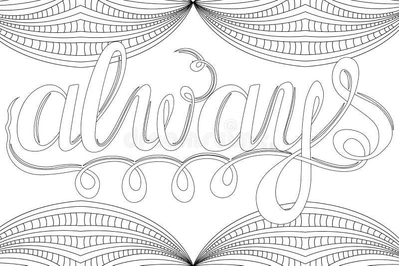 Poniendo Letras - Siempre, Elementos Del Diseño Para El Libro De ...
