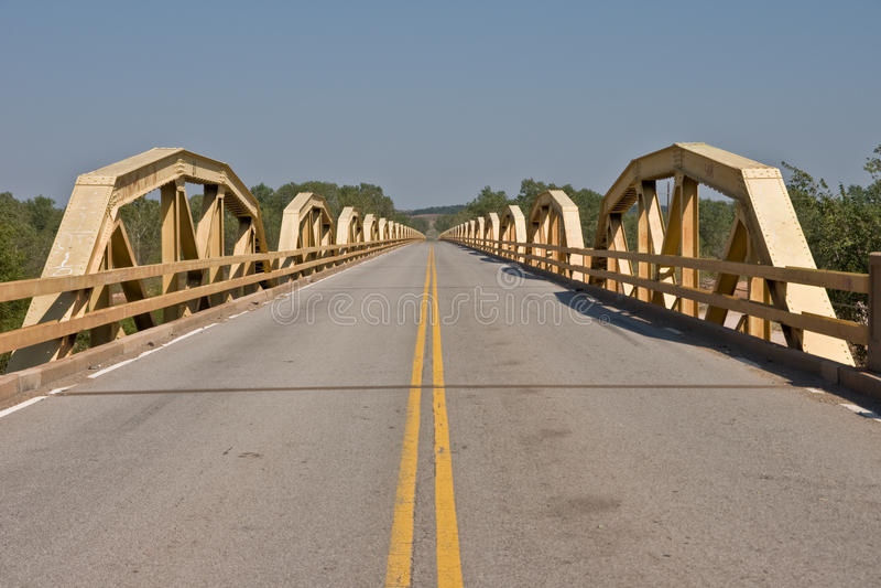 ponnyroute för 66 bro royaltyfri fotografi