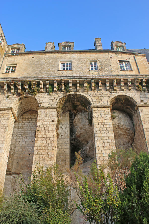 Pons Castle, Framce fotos de stock