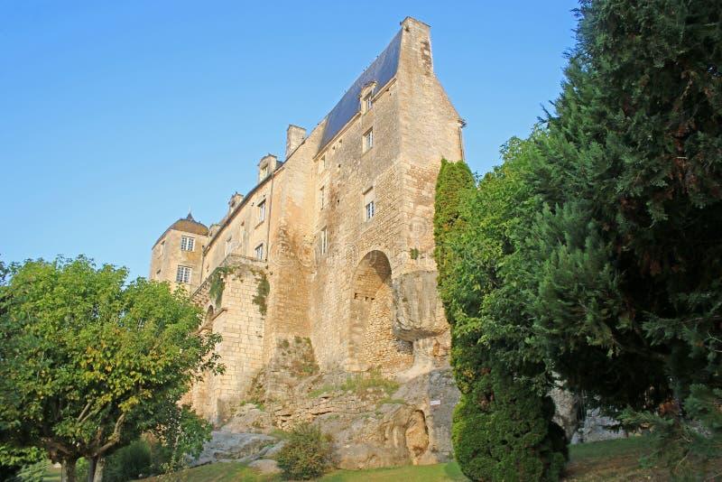 Pons Castle, Francia fotografía de archivo