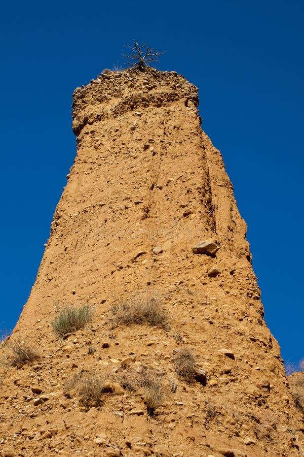 Pontà ³ n de la的奥利瓦山脉,西班牙荒地 库存图片