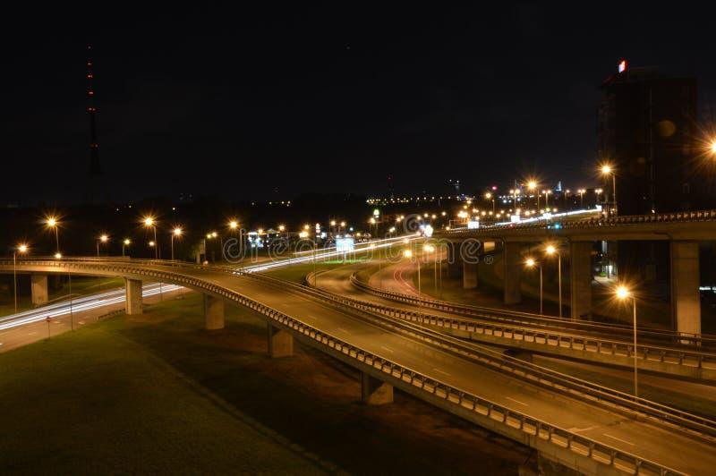 Pont à Riga, Lettonie photographie stock