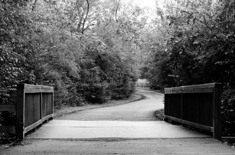 Pont à Windy Road photos libres de droits