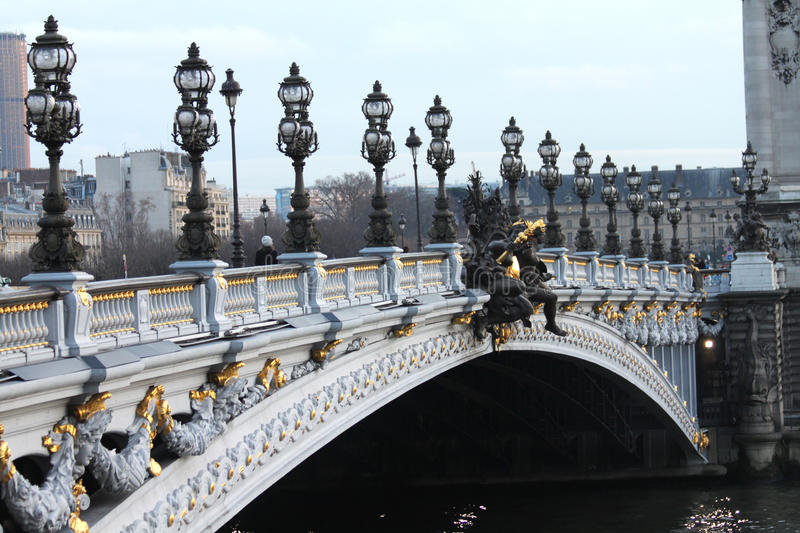 Download Pont Alexandre III stock image. Image of paris, pont - 12620195