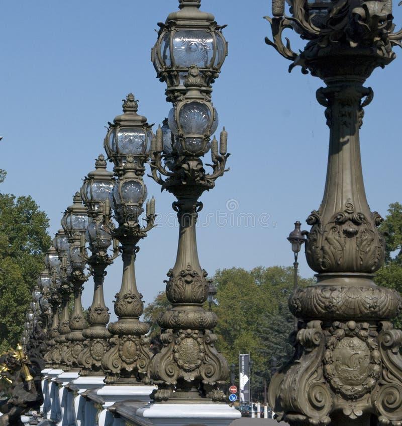 Pont Alexandre III photo libre de droits