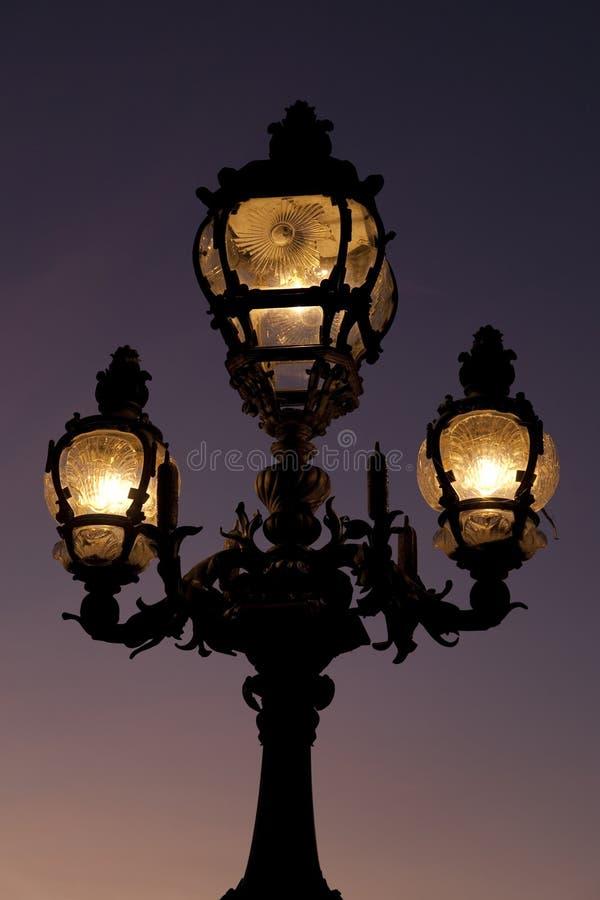 Download Pont Alexandre III Bridge In Paris Stock Image - Image: 22731743