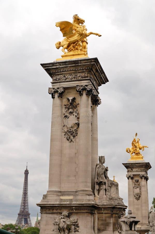Download Pont Alexandre III stock photo. Image of elegant, french - 33451904