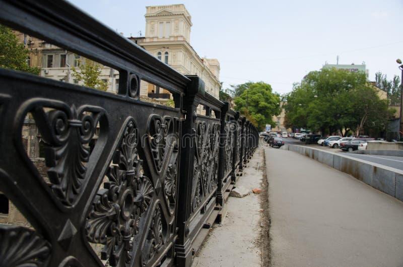 pont antique forgé photographie stock