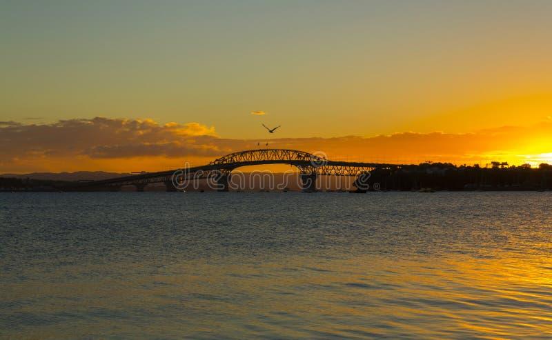 Pont Auckland de port photos stock