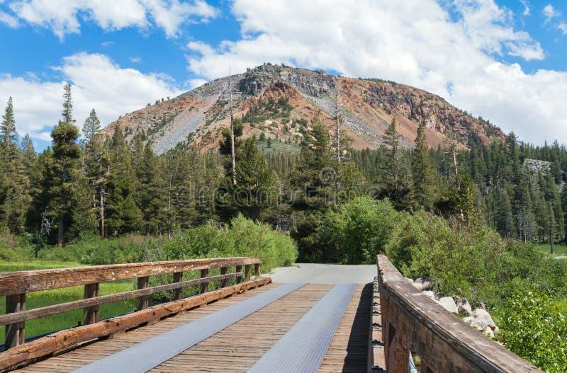 Pont aux lacs gigantesques image libre de droits