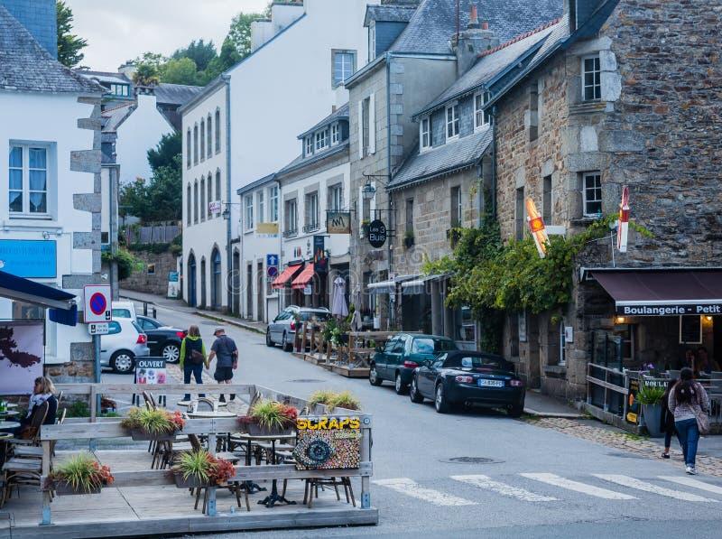 Pont-Aven, une commune dans le département de Finistere de Brittany Bretagne france Pont-Aven, une commune dans le département de photos libres de droits