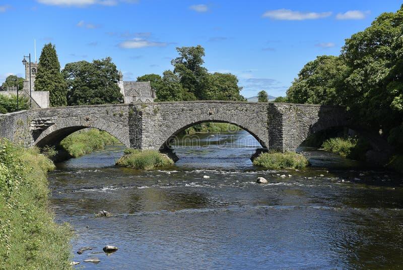Pont bas dans Kendal images libres de droits